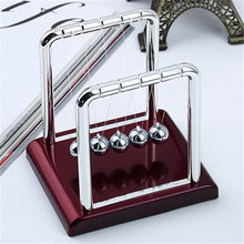 Cradle Steel Balance Ball Physics Science Pendulum Desk Table Decor Fun Toy Gift For Living Room