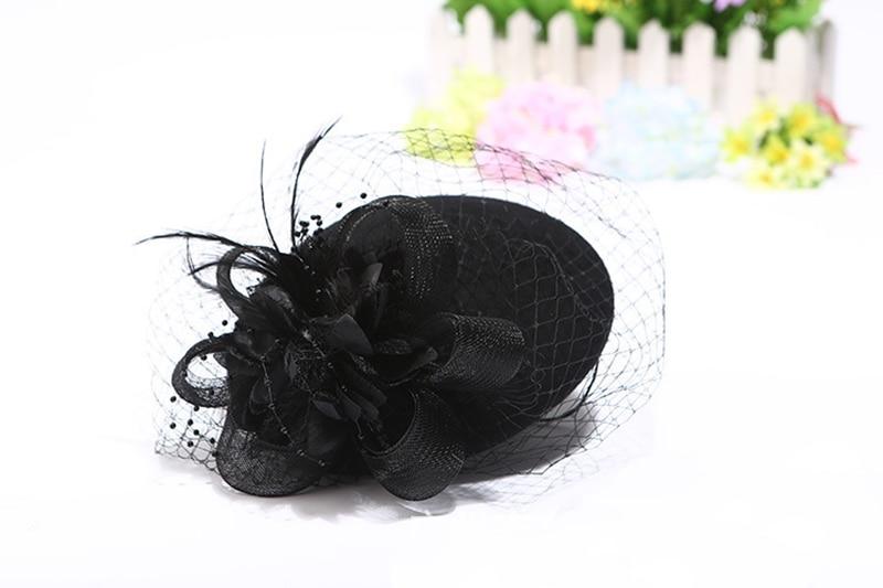Elegante bruiloft hoeden en tovenaars vrouw Bruiloft hoeden voor - Bruiloft accessoires - Foto 3