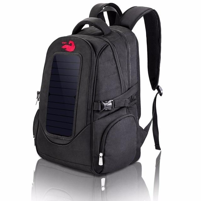 9718b465aaf8 US $50.16 25% OFF Solar Panel Men's Travel Backpack Brand New Business Bag  Large Capacity Laptop Backpack 2018 Multifunctional Zipper Shoulder Bag-in  ...