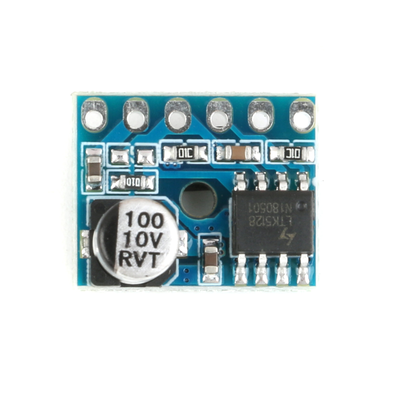 5128 Digital Amplifier Board Class D 5W Mono Audio Amplifier Module Low Distortion Single Power Supply (4)