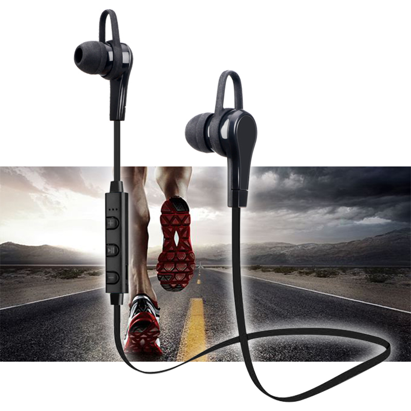 Bluetooth Sport Earphone 4.1 Wireless Headphones Stereo Bluetooth Earbuds Handfree Headset With Mic for iPhone 8 Xiaomi Samsung hena earphones i7 mini i7 bluetooth wireless headphones headset with mic stereo bluetooth earphone for iphone 8 7 plus 6s