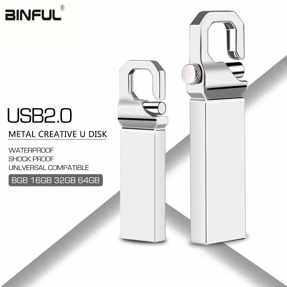 Usb Flash Drive 128gb Usb Stick High Speed Mini 2.0 Metal 64gb 32gb 16gb 8gb 4gb Flash Memory Free Shipping Print Custom Logo