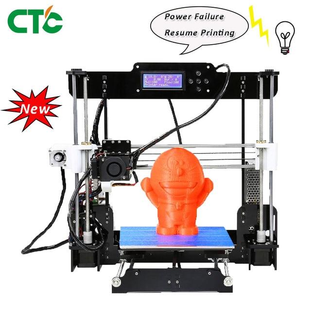 A8 3D プリンタキット高精度 Reprap i3 5 ミリメートルアクリルフレーム再開電源障害印刷モデリングのための & おもちゃ米国株式