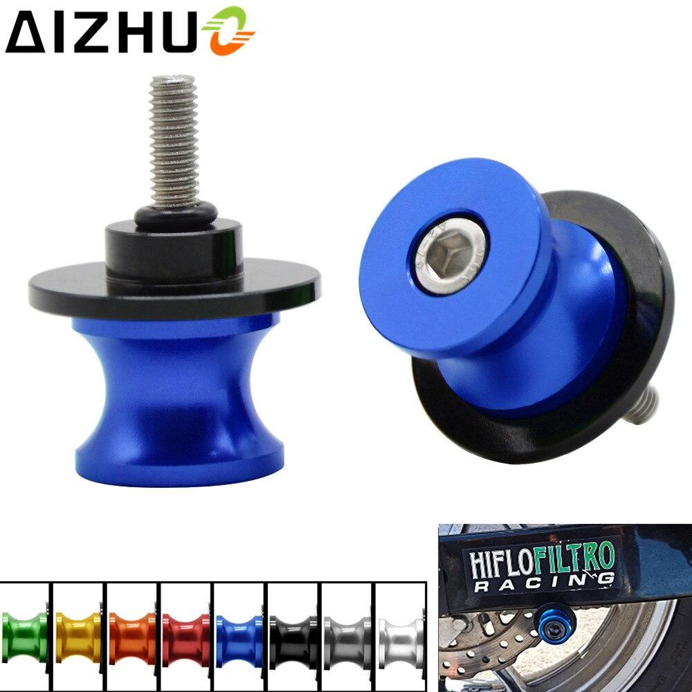 CNC Swing Arm Stand Spools Slider For Suzuki DL650 V-Strom650 DL1000 V-Strom1000