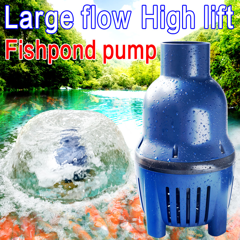 JEBAO LP series high flow submersible pump High power circulating filtering pump for KOI pond Pond pipe pump