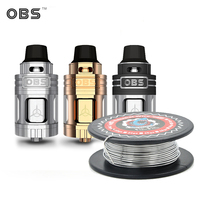 Electronic Cigarettes OBS Engine Tank Vape Top Side Filling Tank OBS Engine RTA Atomizer Vaporizer Tank