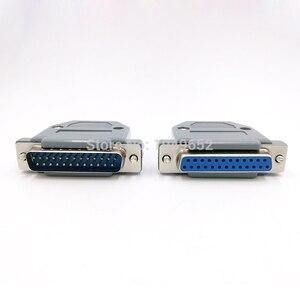 DB25 штепсельный разъем для кабеля для передачи данных, штепсельный разъем vga, 2-рядный 25-контактный порт, гнездовой разъем DP25