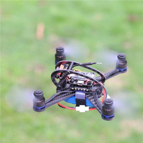 BIFRC X3 130 Mini Racing 4 Axies FPV Quadcopter Drone 2.5mm F3 Dshot600 Brushless ESC con OSD (5)