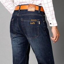 Синий черные джинсы мужской 100% Хлопок мужские Джинсы Известный Бренд Брюки Джинсы дизайнерские джинсы мужчин высокое качество джинсовые брюки