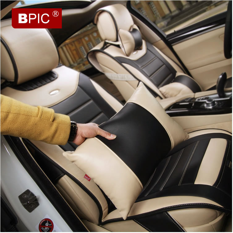 2015 car seat covers high quality new 5 seats soft quality leather high end luxury car seat. Black Bedroom Furniture Sets. Home Design Ideas
