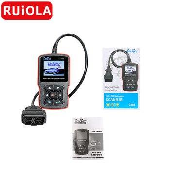 Creador C508 OBDII, EOBD, escáner multisistema para FIAT, para Alfa, para abrasión, Para Lancia Airbag, para herramienta de escaneo ABS