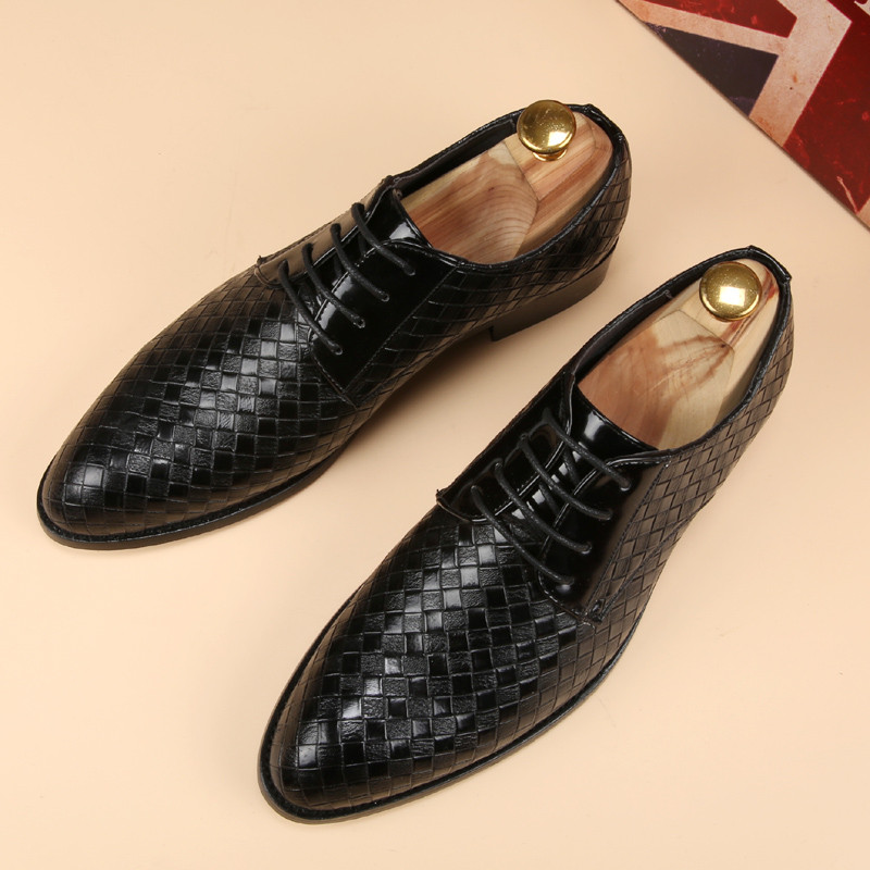glossy dress bespoke men shoes luxury brand retro italian comfort topsiders footwear unique vintage formal party loafer flats (4)