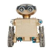 Красивый Mechanicl металлический интеллектуальный пульт дистанционного управления робот сборка обучающая Модель здание железная игрушка DIY Со