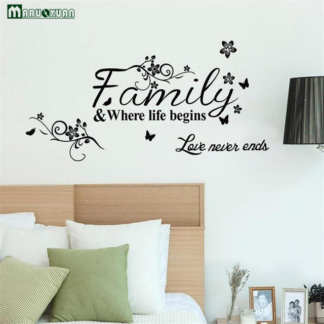 maruoxuan family where life begins love never ends english quote
