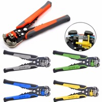 Automatic Cable Wire Stripper Stainless Steel Crimper Pliers Multifunctional Terminal Tool M25