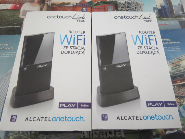 UNLOCKED Alcatel Y800 4G LTE 100Mbps mobile WiFi router EE