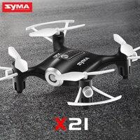 SYMA x21 drones Mini drone gift for boys 2.4G 4CH quadcopter Gyro 3D Eversion RTF remote control Drone vs H8 mini drone toy