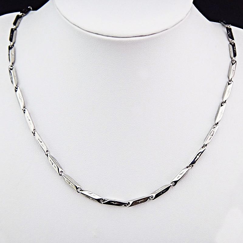Горячая Распродажа шармы 316L нержавеющая сталь женское мужское ожерелье для костюма модные золотые серебряные ювелирные изделия A-816 - Окраска металла: F
