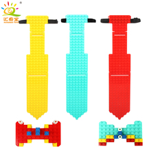 DIY Kids Necktie Baseplate Building Blocks Bricks Compatible Legoed Classic Base Plate Parts Enlighten Toys For