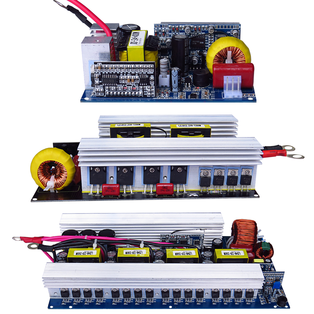 Aiyima Pure Sine Wave Inverter Board DC 12V to AC 220V 300/500/600/1000/1500/2000/2500/3000W Pass Technical Tested High Quality-in Inverters & Converters from Home Improvement    3