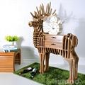 Столов персонализированные креативный дизайнер мебель стеллажи животных лося гостиной журнальный столик / этаж прихожей