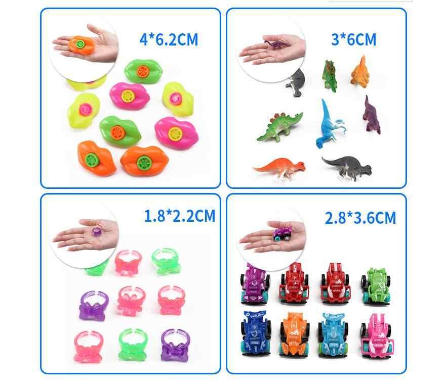 120 шт./компл. детские игрушки для вечеринок класс пината наполнитель сувениры для вечеринки ко дню рождения мальчики девочки Ассорти карнавал призы игрушки
