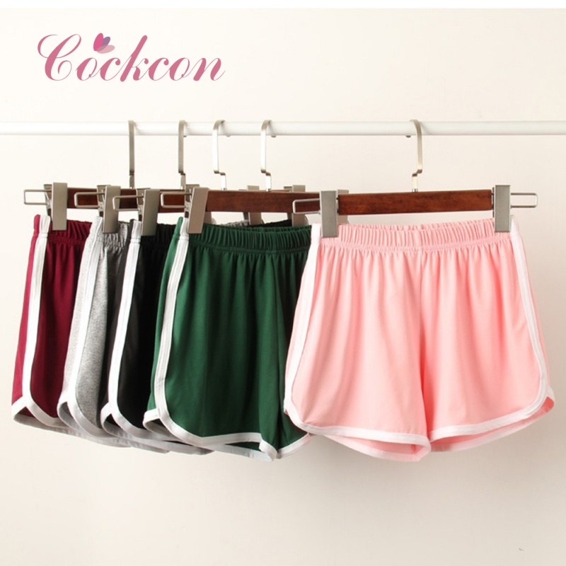 COCKCON Summer Street Casual Shorts Women All-match Loose Soft Cotton Female Stretch Short Pants 2018 Short Feminino Plus Size