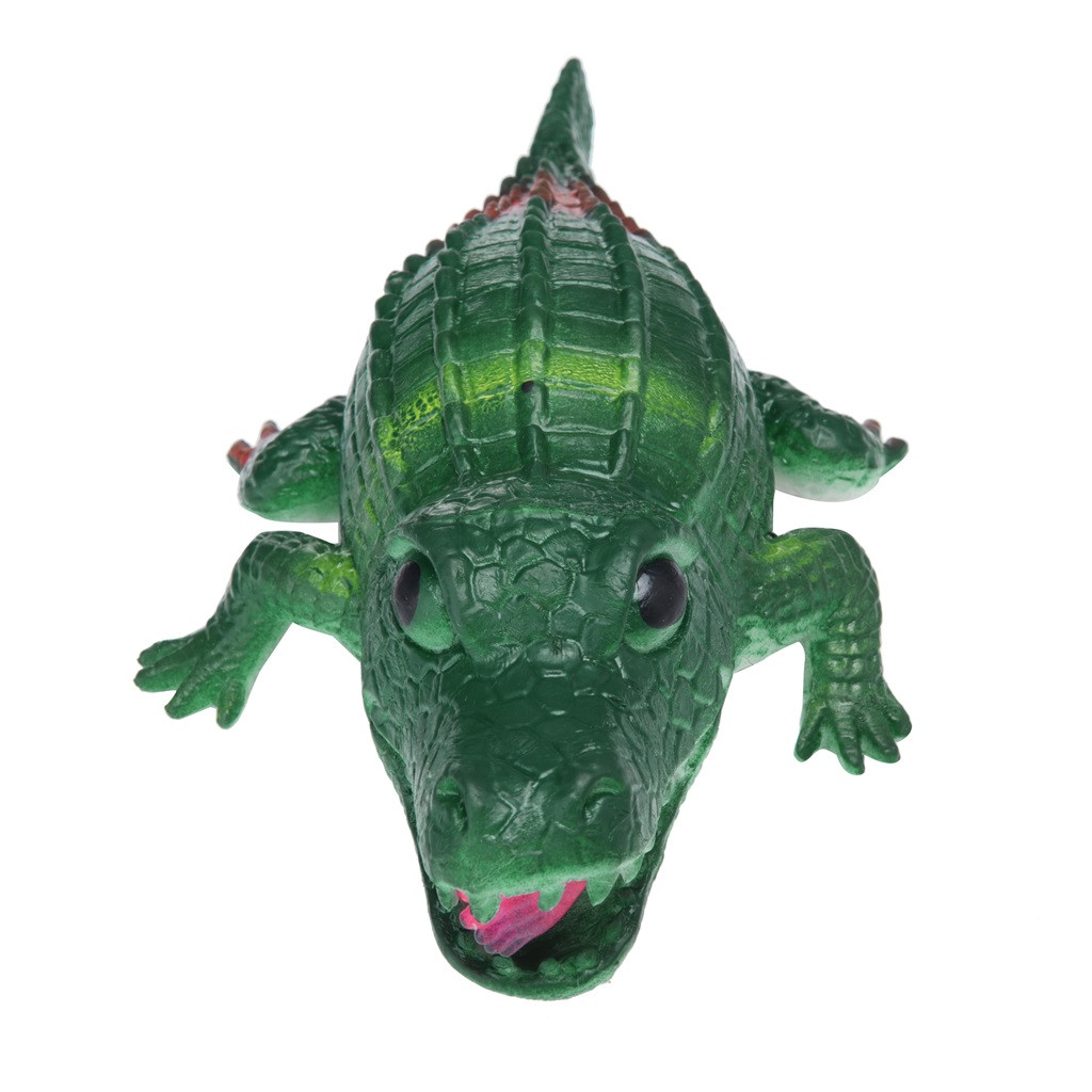 Crocodile Pops Out Leg if Squeeze 14cm Stress Relief Funny Toys 17