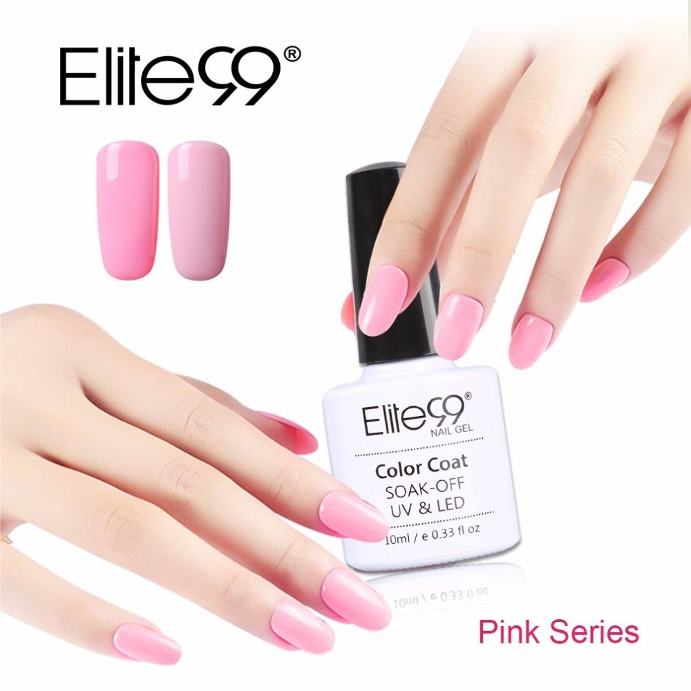 Nail Polish And Gel: Elite99 UV Gel Nail Polish Gel Nail Polish 10ml Long