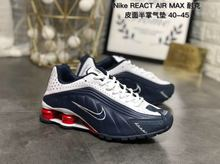ac517f259 New Arrival Original Nike SHOX R4 REACTAlRMAX Men's Breathable Running Shoes  Outdoor Sport Shoes 40-
