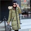 Манто femme зимняя куртка женщин вниз пальто abrigos y куртки пальто 2016 длинные parka женщин куртки и ветровки для пасечник