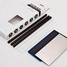 XCMAN Лыжный Сноуборд Ptex капельная свеча основа ремонтная наклейка PTEX комплект/5 шт. Ptex/металлический скребок/шлифовальная губка