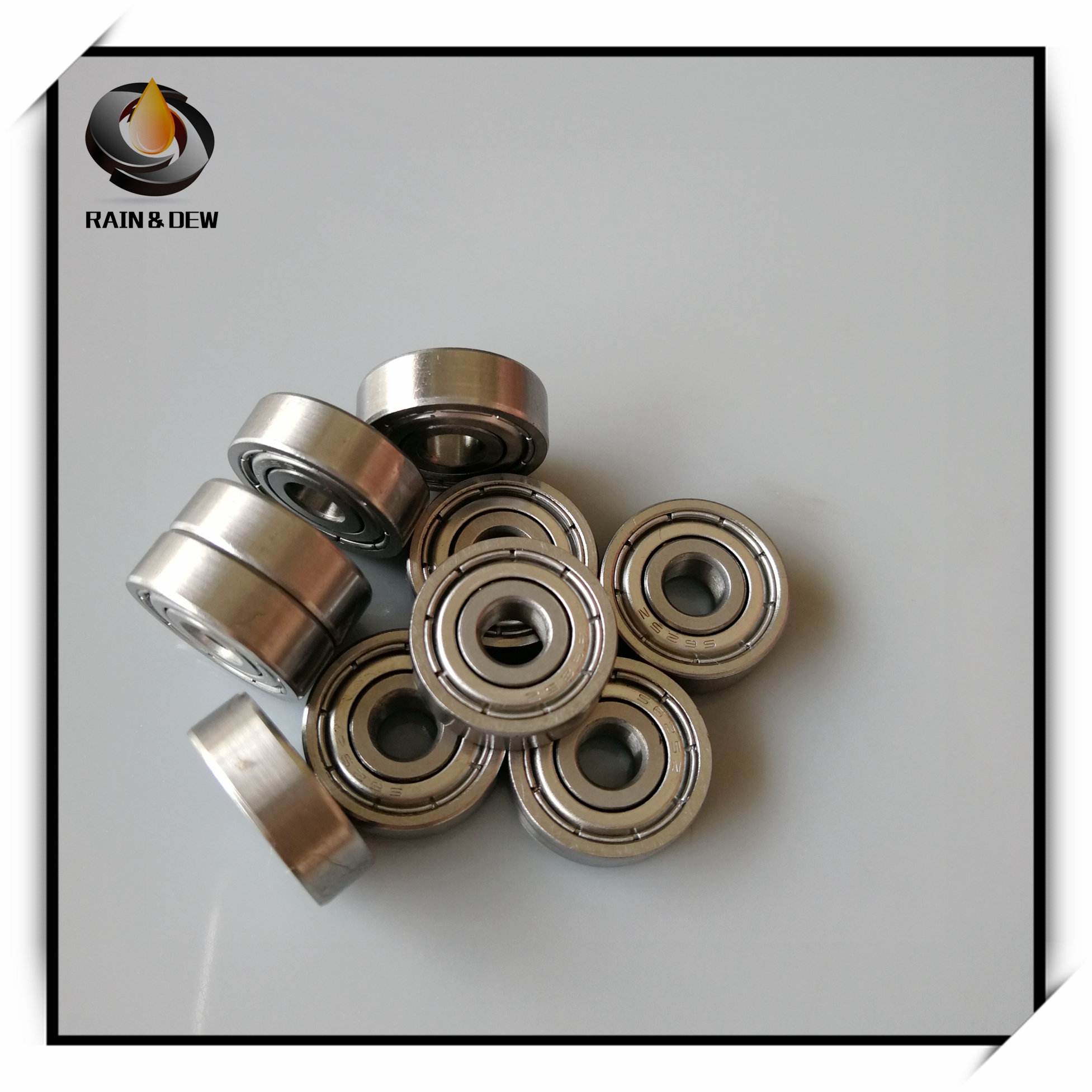 10Pcs S 625 ZZ Stainless Steel Ball Bearing ABEC-7 5x16x5 mm For VORON Mobius 2/3 3D Printer Makefr Rs CNC32