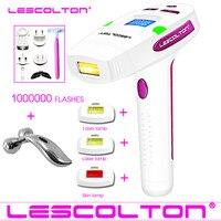 100% оригинал Lescolton 1000000 раз IPL лазерная машина для удаления волос лазерный эпилятор удаление волос постоянный Триммер бикини