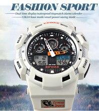 2015 Новый EPOZZ 3001 Мода популярные 3 цвет спорт военная цифровой СВЕТОДИОДНЫЙ световой наручные часы водонепроницаемый montre reloj orologio
