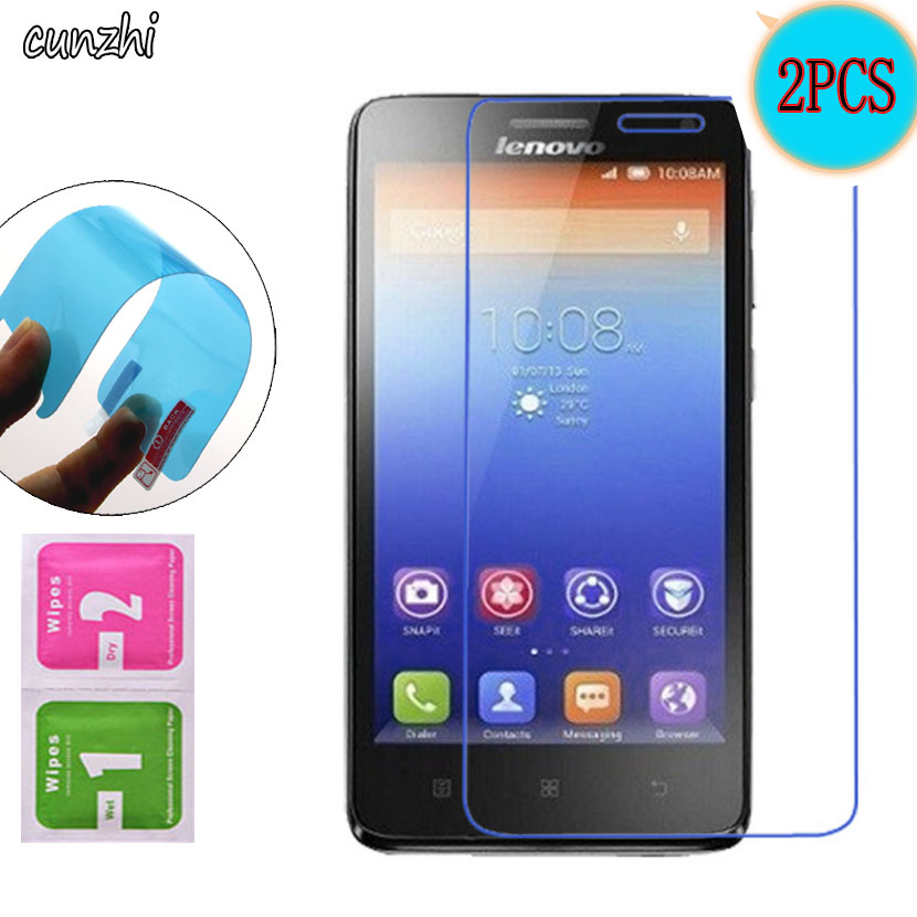 2PCS  Ultra Clear Soft TPU Nano-coated Tempered Explosion Proof Screen Protector Film For Lenovo S660