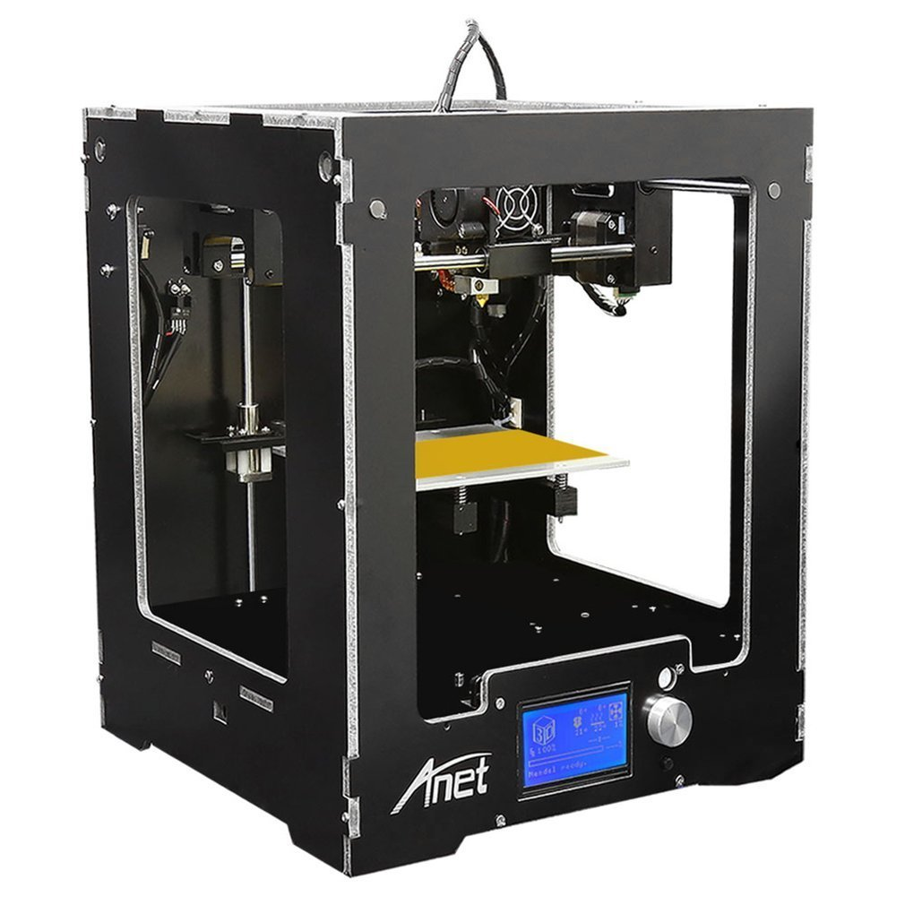 Anet A3-S 3D Printer High-precision Aluminum Hotbed Full Assembled With 10m Filamen Desktop 3 D FDM Printing Machine Kit Diy anet a3 full assembled high precision 3d printer aluminum arcylic frame 3d printer kit industry three dimensional diy printing