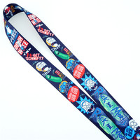 Rick and Morty Lanyard 1