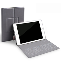 Protective Wireless Bluetooth Keyboard Case For Apple IPad Pro 10 5 PC PU Leather Keyboard Case