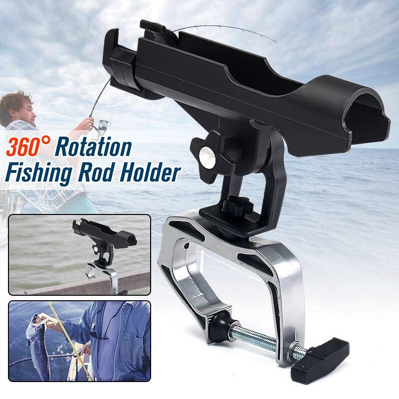 Fence-Mount-Kit Fixed-Holder Boat Fishing-Rod Kayak-Side Adjustable Spinning Aluminum-Alloy