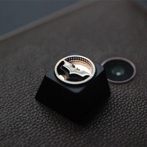1 Pc Zinc Llave De Aleación De Aluminio Tapa Para Dc Batman Reflector Teclado Mecánico Estereoscópica De Keycap R4 Altura DiseñOs Atractivos;