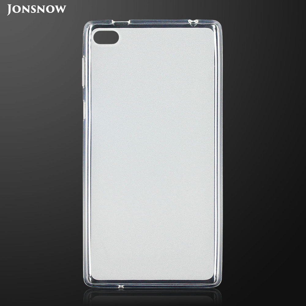 JONSNOW TPU Case for <font><b>Lenovo</b></font> <font><b>Tab</b></font> 4 <font><b>7</b></font>.0 <font><b>TB</b></font>-7504N 7504F <font><b>7504X</b></font> Pudding Anti Skid Soft Silicone Tablet Protective Cover image