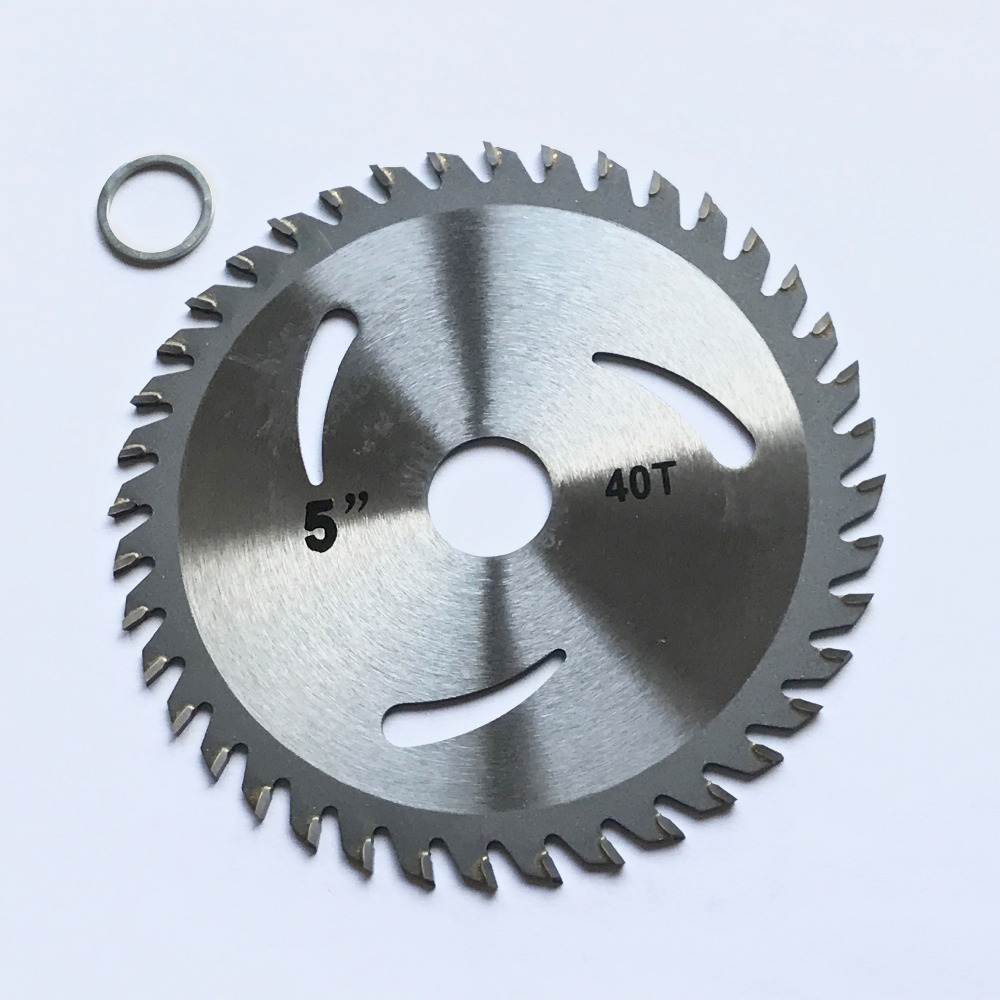 Free Shipping 1PC Decoration Grade125*22*30/40Teeth TCT Saw Blade For Wood/MDF/plastic Cutting For Home DIY Decoration Purpose