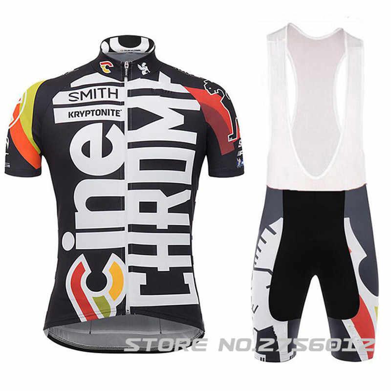 2018 TEAM Cinelli Chrome cycling Jersey ciclismo ENDURO rbx Moto GP  Mountainbike Motocross Maximal exercise brand 1bc9464ba