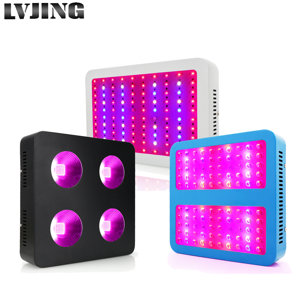 LVJING LED grow light 1000W Full Spectrum UV Growing Lamp For Indoor Greenhouse Lettuce Tomato grow tent plants Hydroponics LVJING LED grow light 1000W Full Spectrum UV Growing Lamp For Indoor Greenhouse Lettuce Tomato grow tent plants Hydroponics