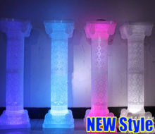Wedding hollow out Roman Column road lead wedding party Hollow plastic roman pillar wholesale wedding decoration
