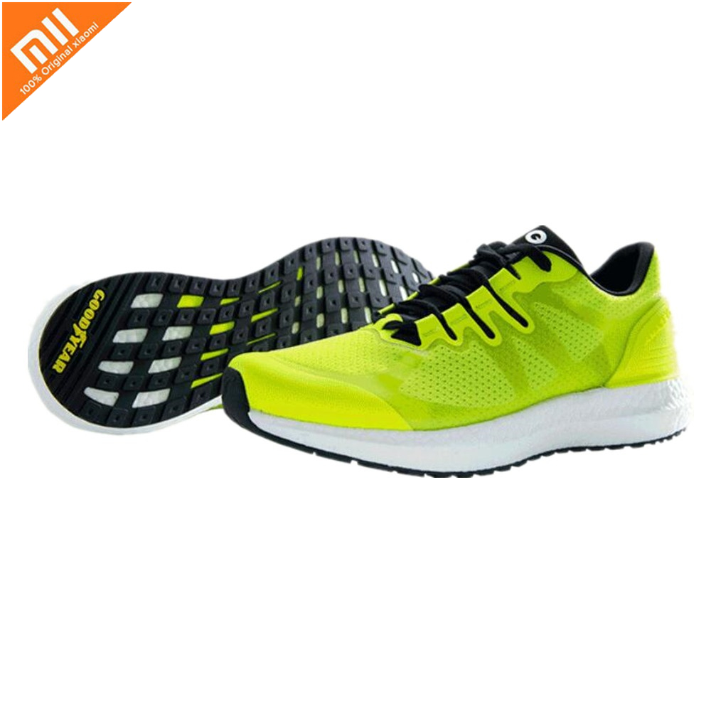 Nouveau Xiaomi mijia Amazfit Marathon entraînement chaussures de course léger respirant Stable soutien pour hommes femmes