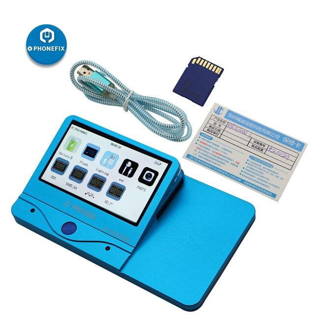 جهاز اختبار NAND المضيف الأصلي JC Pro1000S متعدد الوظائف مع مبرمج NAND PCIE لأدوات اختبار iPhone & iPad NAND