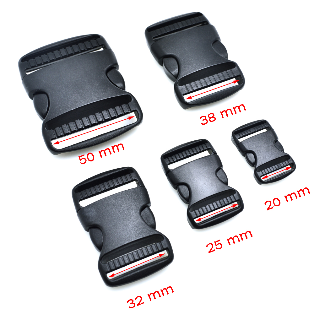 10pcs 1 Webbing Plastic Slider Tri-glide Adjust Tri-ring Black Curve Buckle For Bag Parts Dog Collar Harness Backpack Strap Making Things Convenient For The People Home & Garden