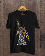 New t shirt queen freddie mercury limitid size s-3xl Men Tee Shirt Tops Short Sleeve Cotton Fitness T-Shirts